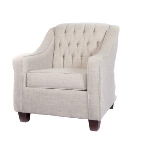 Roma Armchair (Tiffany Grey)
