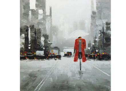 In the rain (print 58)
