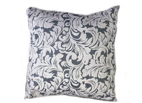 silver leaf pillow (pll 67)