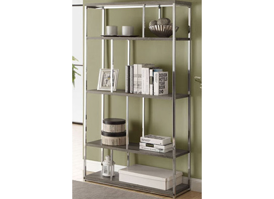 city bookcase (taupe)