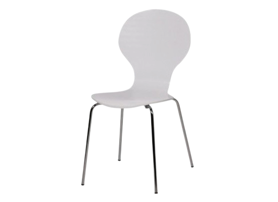 city dining chair (white)