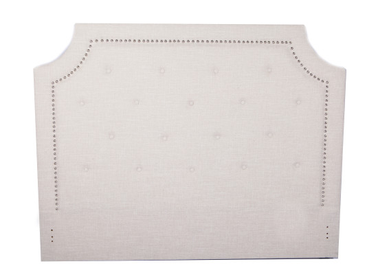 paris headboard (Queen Beige)