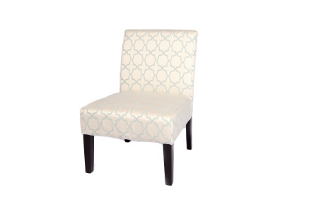 frozen accent chair