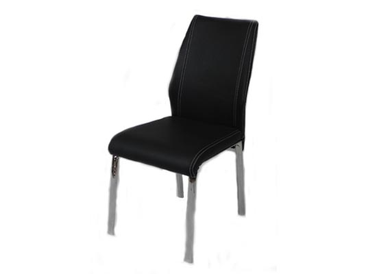 Soho dining chair (black)