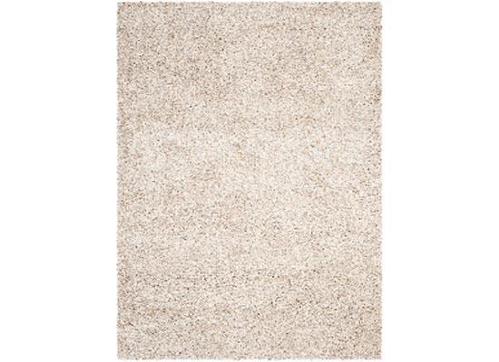 beige shag rug 7 x 10 (R 64)