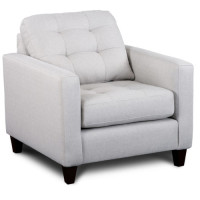 Dixon armchair (light grey)