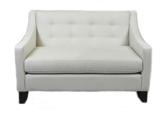 remi love seat (beige)