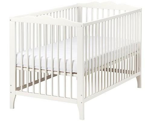Nina White crib