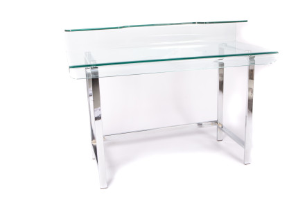 solo glass desk