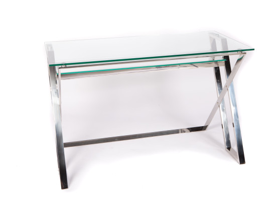 twin desk (silver)