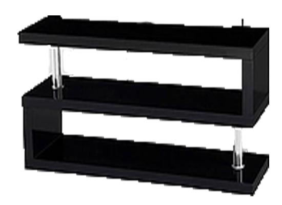 timi tv stand (black)
