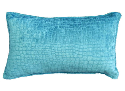 turquoise Kidney pillow (pll 91)