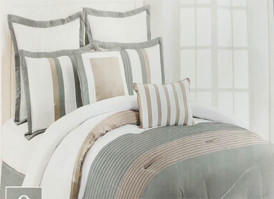 strip bedding set (queen)