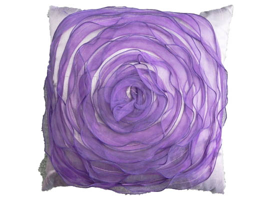 purple rose Pillow (pll 104)