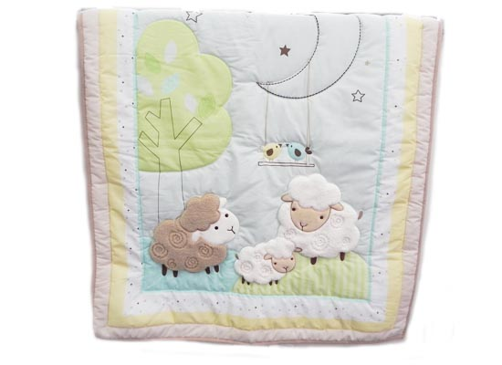 sheep bedding set (Crib)