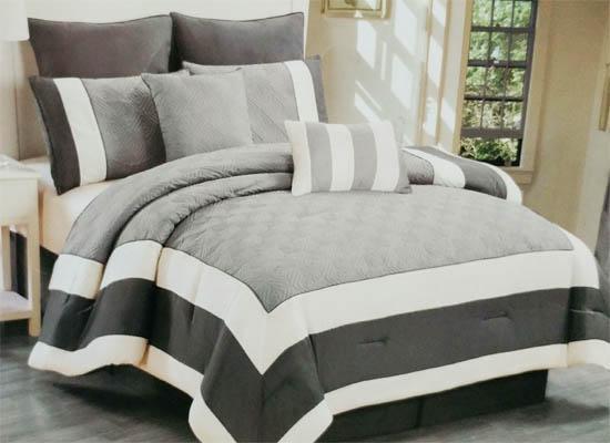 navy bedding set (king)