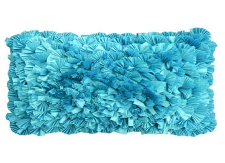 turquoise kidney pillow (pll 107)