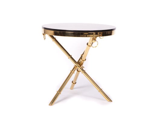 arrow end table (gold)