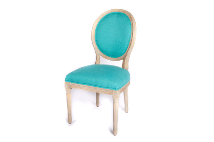 teal accent chair