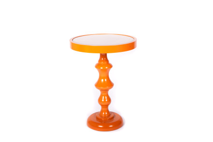 pumpkin end table