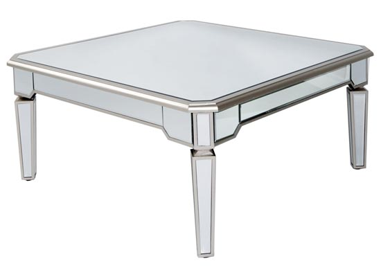 lux coffee table mirror