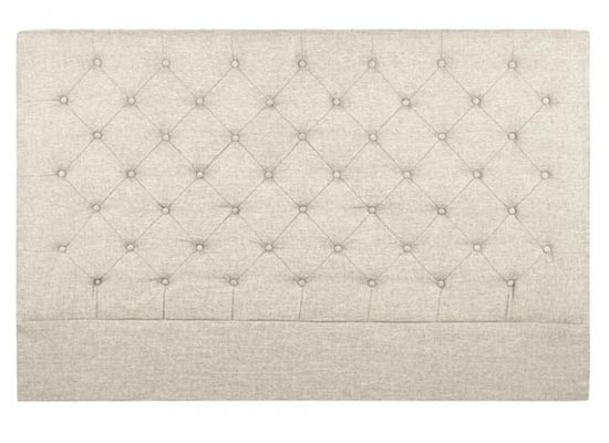 savy headboard (queen beige)