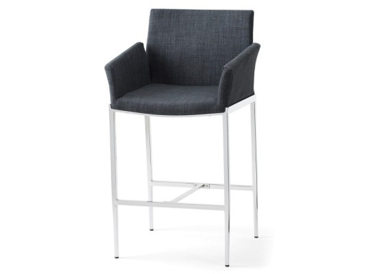 tech counter stool (grey)