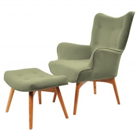 Rio Accent Chair (olive green)