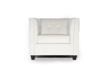 Eden armchair (Velvet grey)