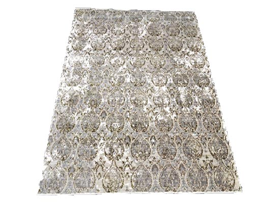 silk rug pcream 5 x 8 (r 113)