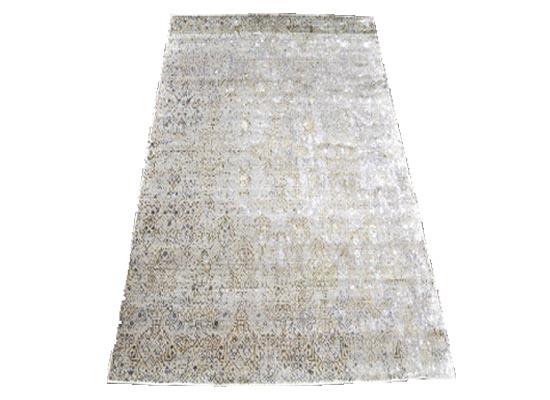 silk rug 5 x 8 (r 114)