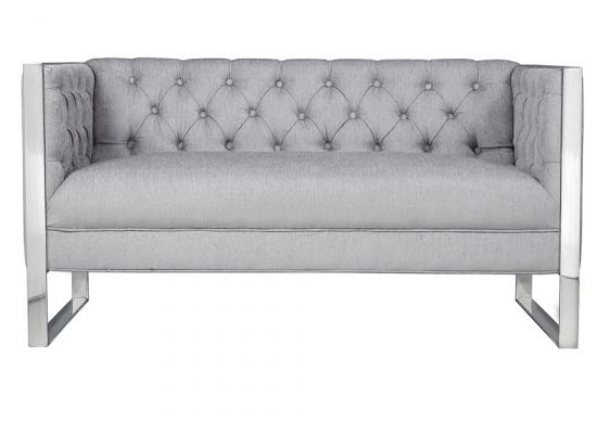 London loveseat (grey)