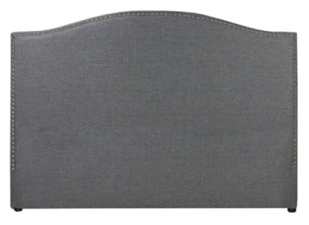 cibo headboard (queen velvet grey)