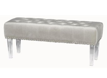 pina bench (velvet grey)