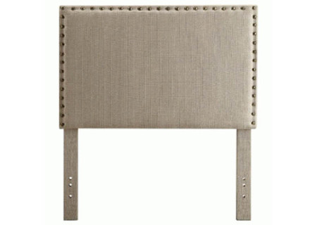 Lina headboard (single beige)