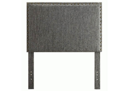 Lina Headboard (single grey)