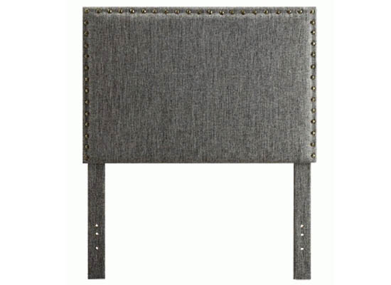 Lina Headboard (single grey)