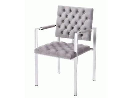 Nisha Accent Chair (grey)