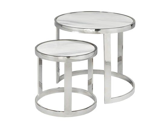 sue nesting end table