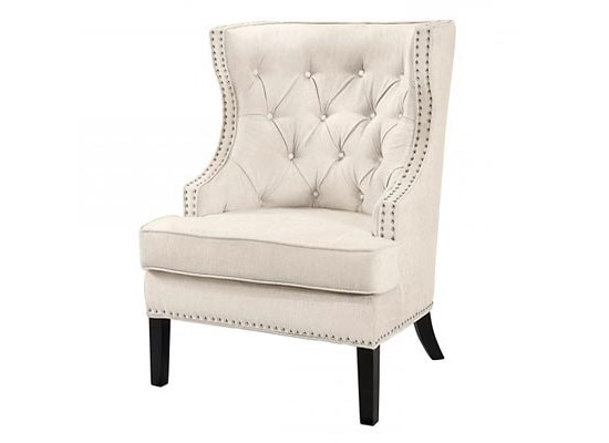 Nico Accent Chair (beige)
