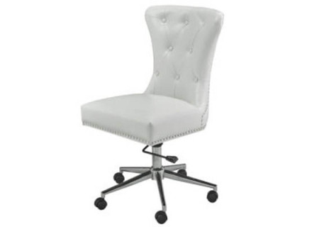Roxy chair (white leather)