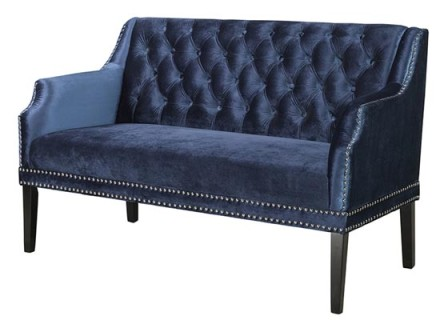 sofia loveseat (blue)