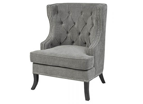 nico accent chair (dark grey)