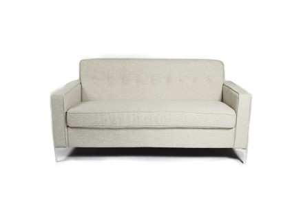 DRAKE LOVESEAT (grey) CONDO SIZE