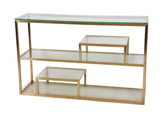 laval console gold