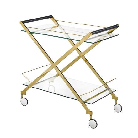 Lux Bar Cart (gold)