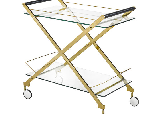 Lux Bar Cart (gold)