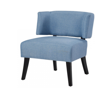 Cavalli accent chair (light blue)