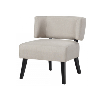 Cavalli accent chair (beige)