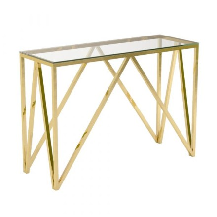 Florence Console Table (gold)